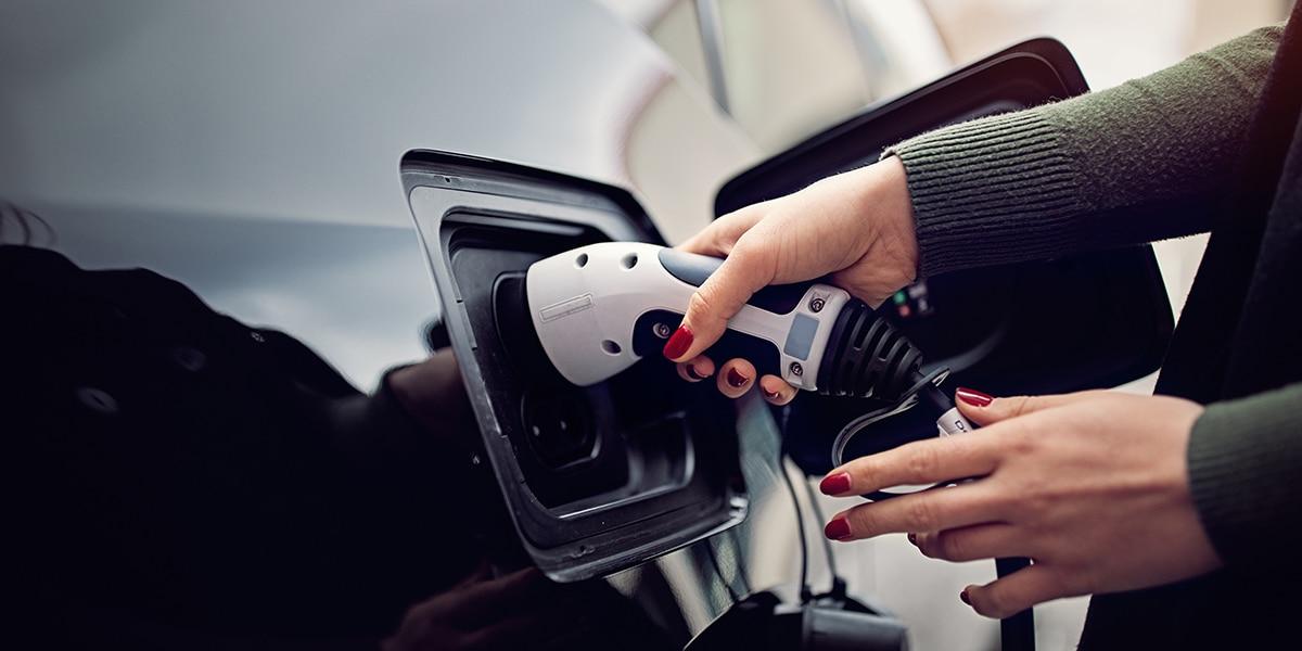 Auto tanken mit Wechselstrom